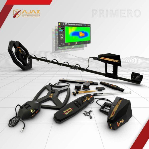 بريميرو جهاز كشف الذهب والمعادن والفراغات من اجاكس الامريكية ، احدث اجهزة كشف الذهب