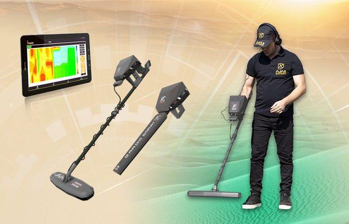 اجهزة الكشف بالنظام التصويري - تصوير المعادن تحت االارض